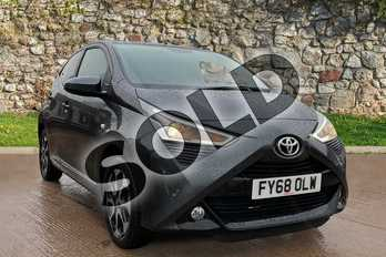 Toyota AYGO 1.0 VVT-i X-Plore 5dr in Electro Grey at Listers Toyota Grantham