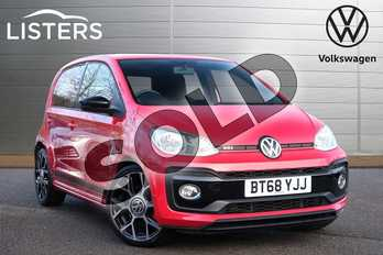 Volkswagen Up 1.0 115PS Up GTI 5dr in Tornado Red at Listers Volkswagen Leamington Spa