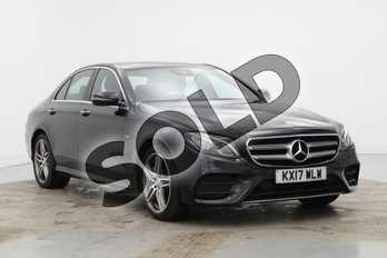 Mercedes-Benz E Class E350e AMG Line Premium 4dr 9G-Tronic in Obsidian Black Metallic at Mercedes-Benz of Lincoln