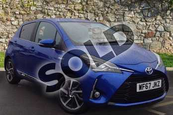 Toyota Yaris 1.5 Hybrid Excel 5dr CVT in Blue at Listers Toyota Coventry