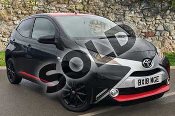 Toyota AYGO 1.0 VVT-i X-Press 5dr in Black at Listers Toyota Coventry