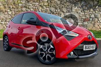 Toyota AYGO 1.0 VVT-i X-Trend 5dr in Red at Listers Toyota Coventry