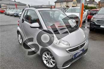smart Fortwo Cabrio Passion mhd 2dr Softouch Auto (2010) in Bodypanels in metallic Silver at Listers Volkswagen Worcester