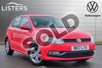 Volkswagen Polo 1.2 TSI Match 5dr in Flash Red at Listers Volkswagen Leamington Spa