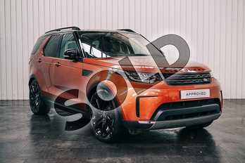 Land Rover Discovery 3.0 TD6 First Edition 5dr Auto in Namib Orange at Listers Land Rover Solihull