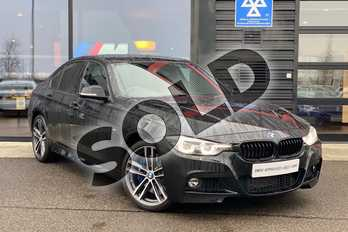 BMW 3 Series 335d xDrive M Sport Shadow Edition 4dr Step Auto in Black Sapphire metallic paint at Listers King's Lynn (BMW)