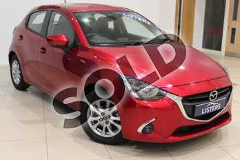 Mazda 2 1.5 75 SE-L+ 5dr in Special metallic - Soul red crystal at Listers U Northampton