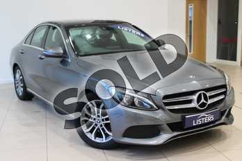 Mercedes-Benz C Class C220d Sport Premium Plus 4dr 9G-Tronic in Metallic - Selenite Grey at Listers U Northampton