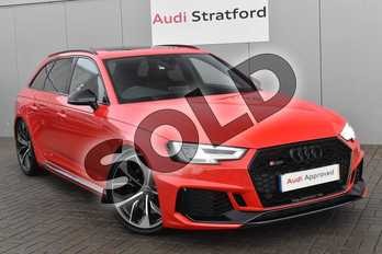 Audi RS4 RS 4 TFSI Quattro Sport Edition 5dr S Tronic in Misano Red Pearlescent at Stratford Audi