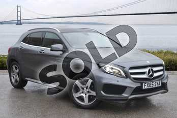 Mercedes-Benz GLA GLA 220 CDI 4Matic AMG Line 5dr Auto (Pre Plus) in Mountain Grey Metallic at Mercedes-Benz of Hull