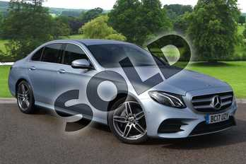 Mercedes-Benz E Class E220d AMG Line 4dr 9G-Tronic in Diamond Silver Metallic at Mercedes-Benz of Grimsby
