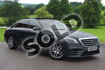 Mercedes-Benz S Class S350d L AMG Line Executive 4dr 9G-Tronic in Anthracite Blue metallic at Mercedes-Benz of Grimsby