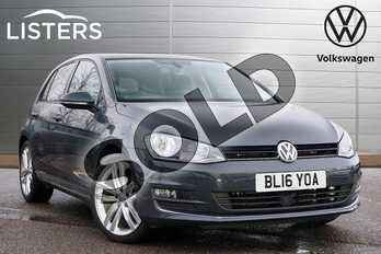 Volkswagen Golf 2.0 TDI GT Edition 5dr in Urano Grey at Listers Volkswagen Leamington Spa