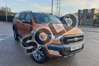 Ford Ranger Pick Up Double Cab Wildtrak 3.2 TDCi 200 Auto in Orange at Listers Volkswagen Van Centre Coventry
