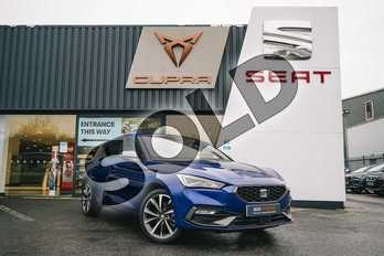 SEAT Leon 1.4 eHybrid FR Sport 5dr DSG in Blue at Listers SEAT Coventry