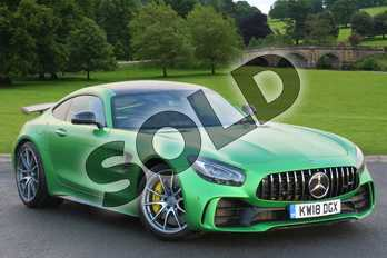 Mercedes-Benz AMG GT GT R Premium 2dr Auto in AMG Green Hell Magno at Mercedes-Benz of Boston