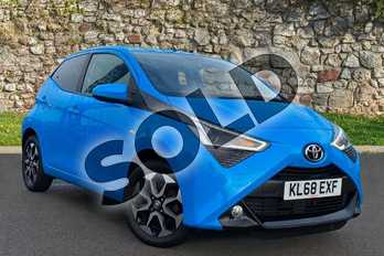 Toyota AYGO 1.0 VVT-i X-Plore 5dr in Blue at Listers Toyota Coventry