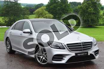 Mercedes-Benz S Class S350d L AMG Line Executive/Premium 4dr 9G-Tronic in Iridium Silver metallic at Mercedes-Benz of Grimsby