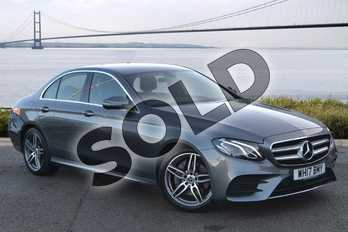 Mercedes-Benz E Class E220d AMG Line 4dr 9G-Tronic in selenite grey metallic at Mercedes-Benz of Hull