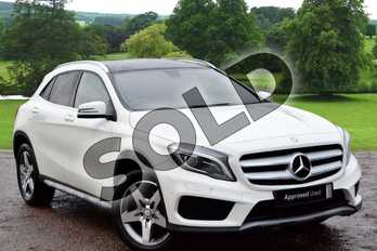 Mercedes-Benz GLA GLA 220 CDI 4Matic AMG Line 5dr Auto (Pre Plus) in Cirrus White at Mercedes-Benz of Grimsby