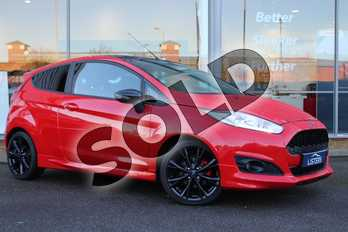 Ford Fiesta 1.0 EcoBoost 140 Zetec S Red 3dr in Solid - Race red at Listers U Northampton