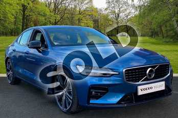 Volvo S60 2.0 T5 R DESIGN Plus 4dr Auto in Bursting Blue at Listers Volvo Worcester