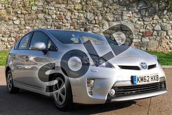 Toyota Prius 1.8 VVTi Plug-in 5dr CVT Auto in Silver at Listers Toyota Boston