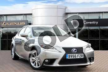 Lexus IS 300h Advance 4dr CVT Auto in Sonic Titanium at Lexus Coventry