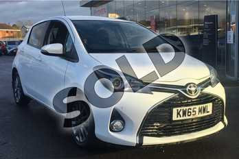 Toyota Yaris 1.4 D-4D Icon 5dr in Pure White at Listers Toyota Lincoln