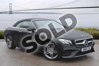 Mercedes-Benz E Class E220d AMG Line Premium Plus 2dr 9G-Tronic in obsidian black metallic at Mercedes-Benz of Hull