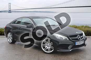 Mercedes-Benz E Class E350d AMG Line Edition 2dr 9G-Tronic in Obsidian Black metallic at Mercedes-Benz of Hull