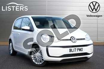 Volkswagen Up 1.0 Move Up 5dr ASG in Candy White at Listers Volkswagen Leamington Spa