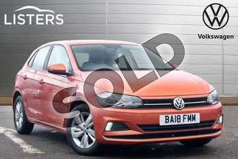 Volkswagen Polo 1.0 75 SE 5dr in Energetic Orange at Listers Volkswagen Leamington Spa