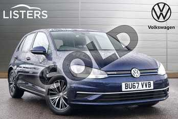 Volkswagen Golf 1.5 TSI EVO SE (Nav) 5dr in Atlantic Blue at Listers Volkswagen Leamington Spa