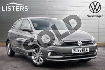 Volkswagen Polo 1.0 EVO SE 5dr in Limestone Grey at Listers Volkswagen Leamington Spa