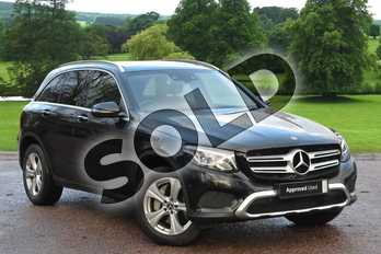 Mercedes-Benz GLC GLC 250d 4Matic Sport Premium Plus 5dr 9G-Tronic in black at Mercedes-Benz of Grimsby