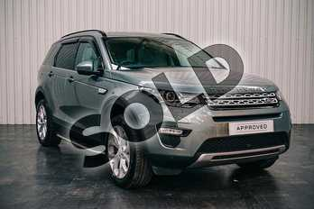 Land Rover Discovery Sport 2.0 TD4 180 HSE 5dr Auto in Scotia Grey at Listers Land Rover Solihull