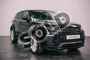 Range Rover Evoque 2.0 TD4 (180hp) HSE Dynamic Lux in Santorini Black at Listers Land Rover Solihull