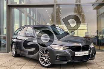 BMW 3 Series 335d xDrive M Sport Shadow Edition 5dr Step Auto in Mineral Grey at Listers King's Lynn (BMW)