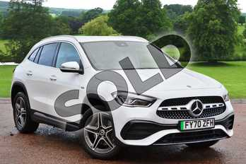 Mercedes-Benz GLA GLA 250e Exclusive Edition 5dr Auto in Digital White Metallic at Mercedes-Benz of Grimsby