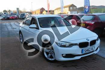 BMW 3 Series 318d SE 4dr in Solid - Alpine white at Listers Toyota Grantham