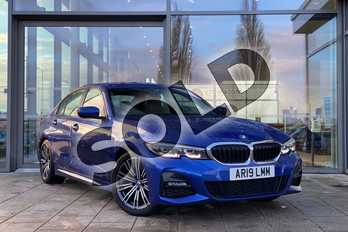 BMW 3 Series 320d M Sport 4dr Step Auto in Portimao Blue at Listers King's Lynn (BMW)