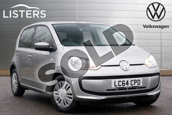 Volkswagen Up 1.0 Move Up 5dr in Tungsten Silver at Listers Volkswagen Leamington Spa