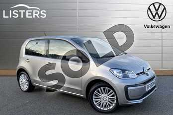 Volkswagen Up 1.0 Move Up 5dr in Tungsten Silver at Listers Volkswagen Stratford-upon-Avon