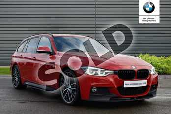 BMW 3 Series 340i M Sport 5dr Step Auto in Melbourne Red at Listers Boston (BMW)