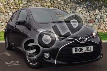 Toyota Yaris 1.33 VVT-i Icon 5dr in Black at Listers Toyota Coventry