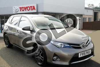 Toyota Auris 1.6 V-Matic Icon+ 5dr in Avant-garde Bronze at Listers Toyota Grantham