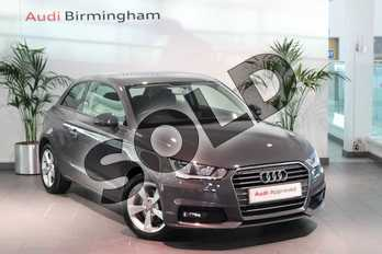 Audi A1 1.4 TFSI Sport Nav 3dr in Nano Grey Metallic at Birmingham Audi