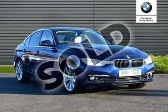 BMW 3 Series 330d Luxury 4dr Step Auto in Mediterranean Blue at Listers Boston (BMW)