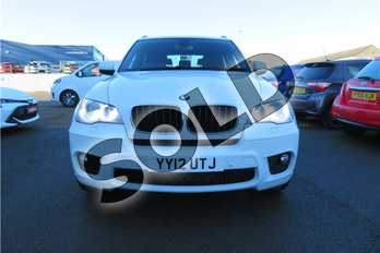 BMW X5 xDrive30d M Sport 5dr Auto in Solid - Alpine white at Listers Toyota Grantham